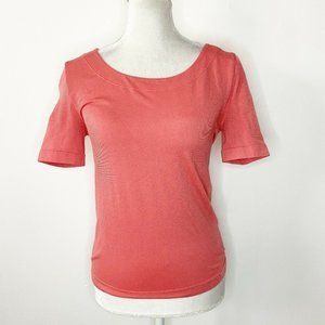 Wolford Opaque Naturel L Shirt Coral Pink